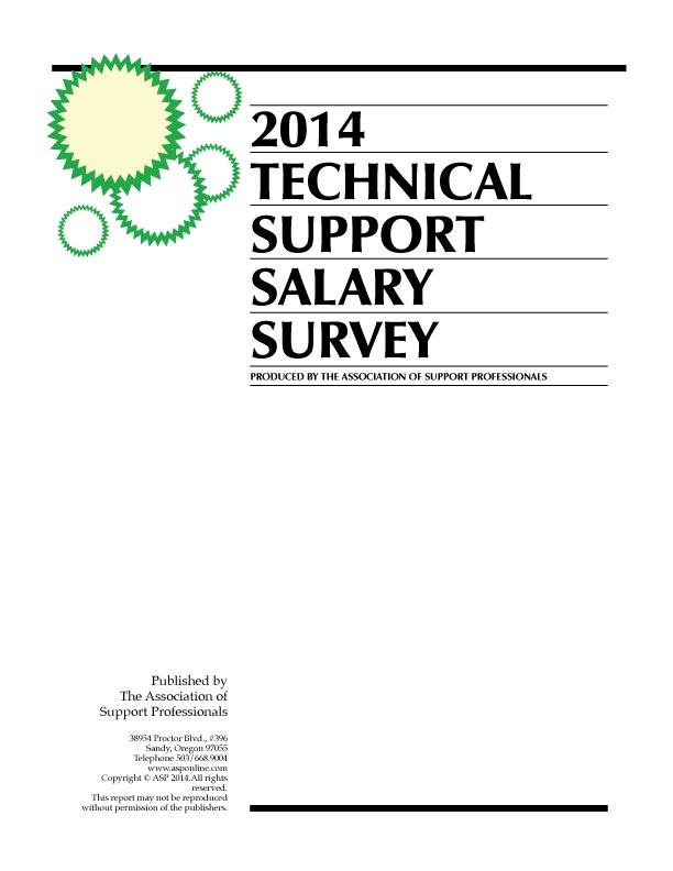 ASP's 2014 Tech Support