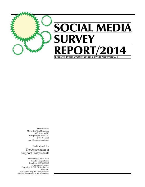 ASP's 2014 Social Media