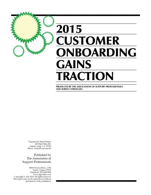 ASP's 2015 Onboarding