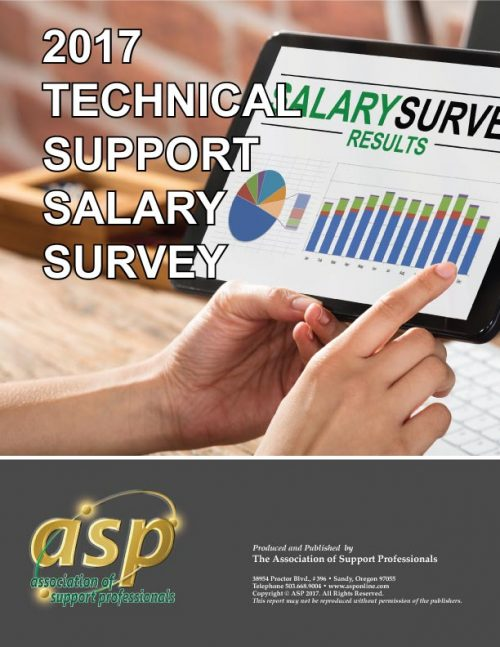 ASP's - 2017 Tech Support Salary Survey