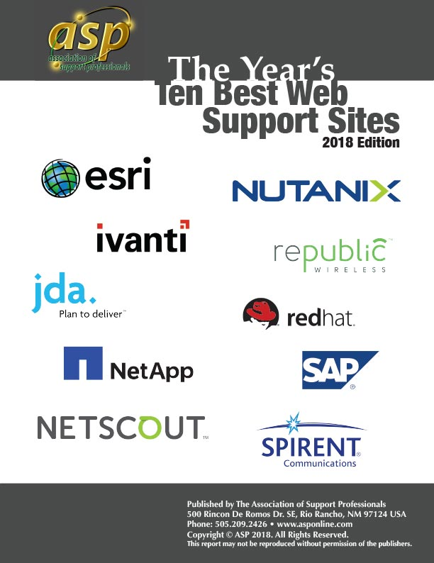 ASP 2018 Top Ten